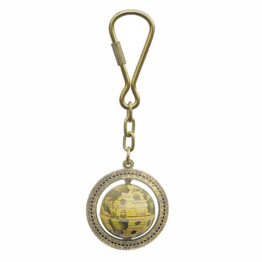 Globus-Schlüsselanhänger