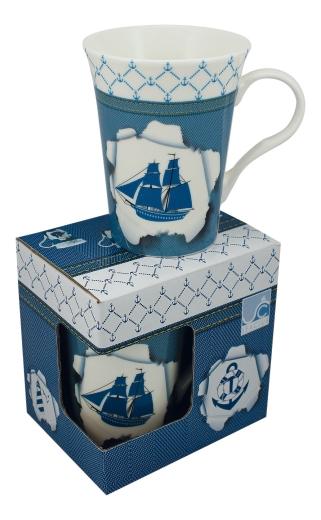 Tasse/Kaffeebecher - Schiff