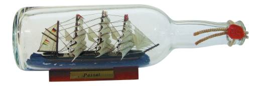 Flaschenschiff - Passat