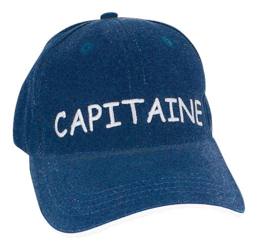 Cap - CAPITAINE