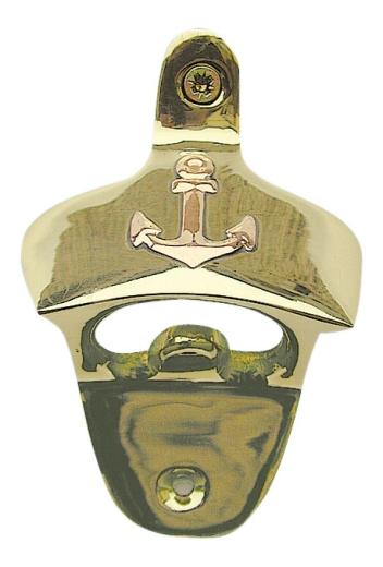 Flaschenöffner - Wandmontage