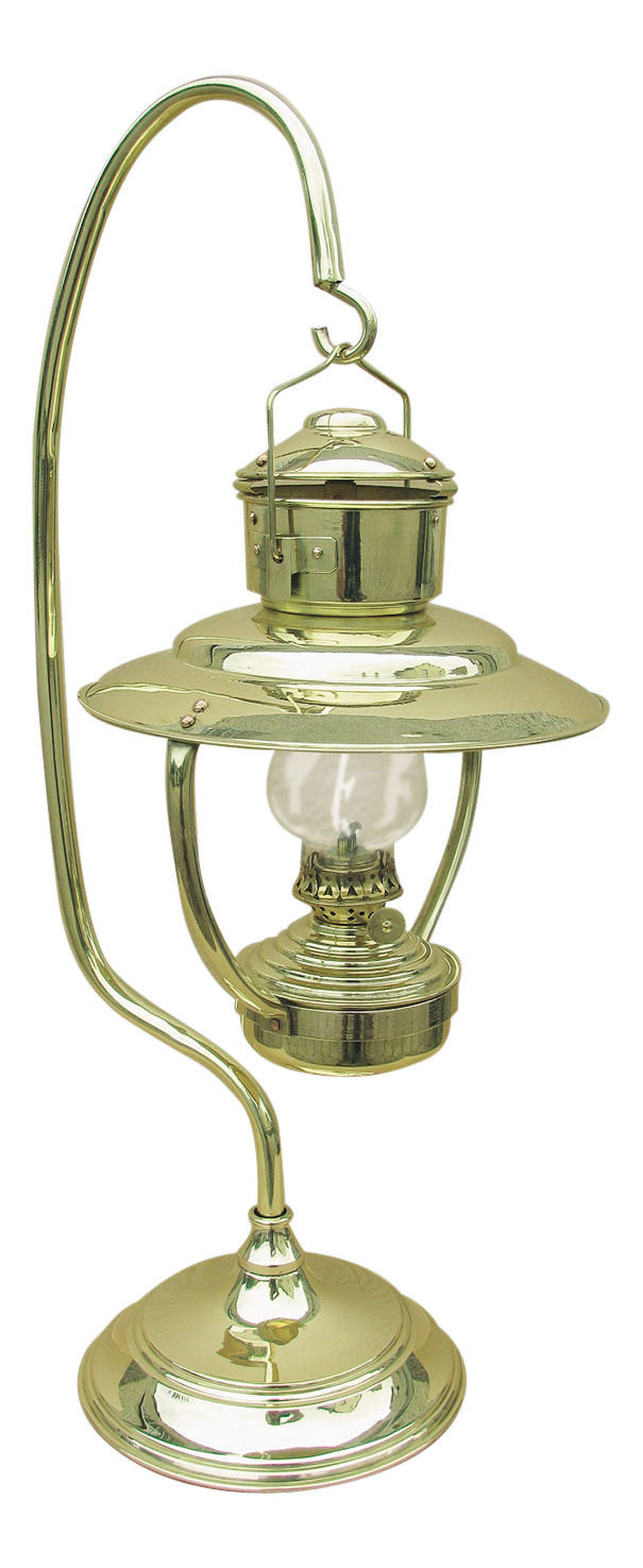 Lampe messing petroleumbrenner perfekt f r die maritime for Maritime wohnaccessoires