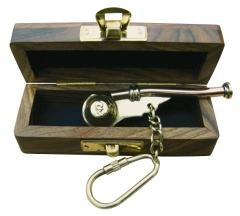 Bootsmannspfeife-Schlüsselanhänger