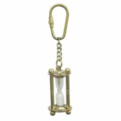 Sanduhr-Schlüsselanhänger