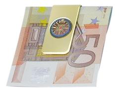 Geldscheinklammer - Kompassrose