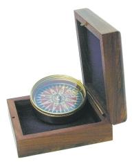 Kompass mit Windrosenblatt