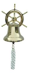 Glocke mit Steuerradwandhalterung
