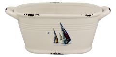 Ovaler Topf - Boote-Design