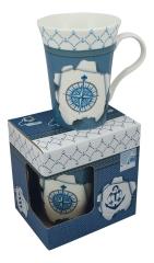 Tasse/Kaffeebecher - Windrose