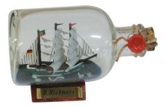 Flaschenschiff - Rickmer Rickmers