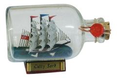 Flaschenschiff - Cutty Sark