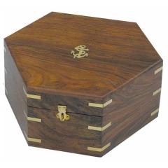 Holzbox für Sextant 8201N oder 8201S
