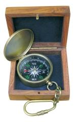 Kompass-Schlüsselanhänger