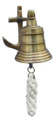 Glocke mit Anker-Wandhalterung