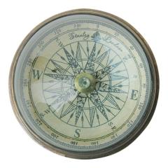 Kompass mit Domglas