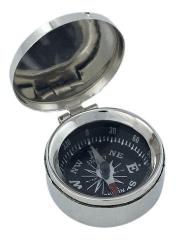 Kleiner Kompass mit Deckel