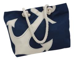 Shopping-Tasche mit Ankerdruck