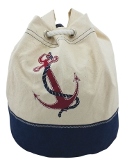 Rucksack mit Anker-Motiv